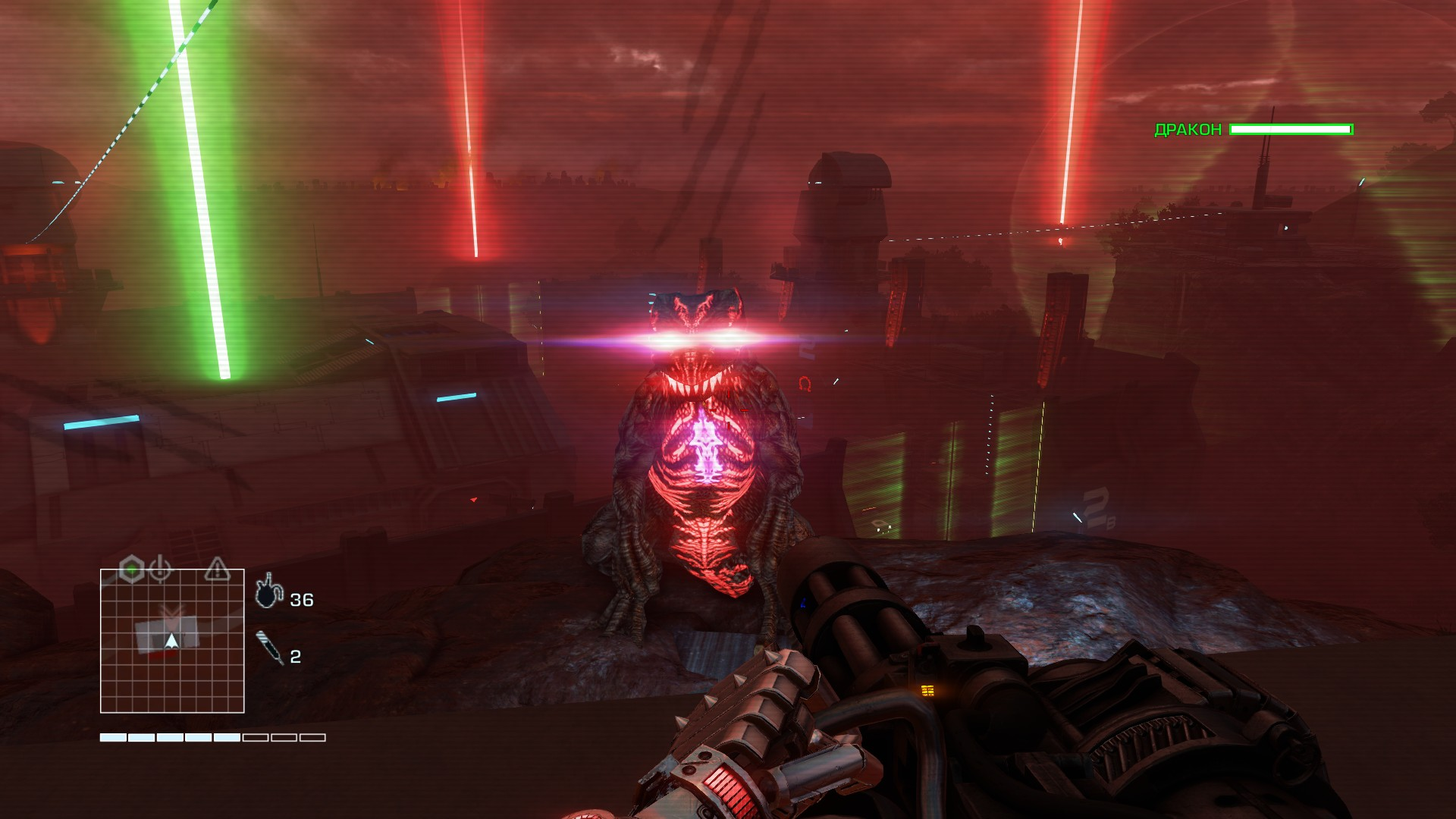 Прошёл Far Cry 3: Blood Dragon