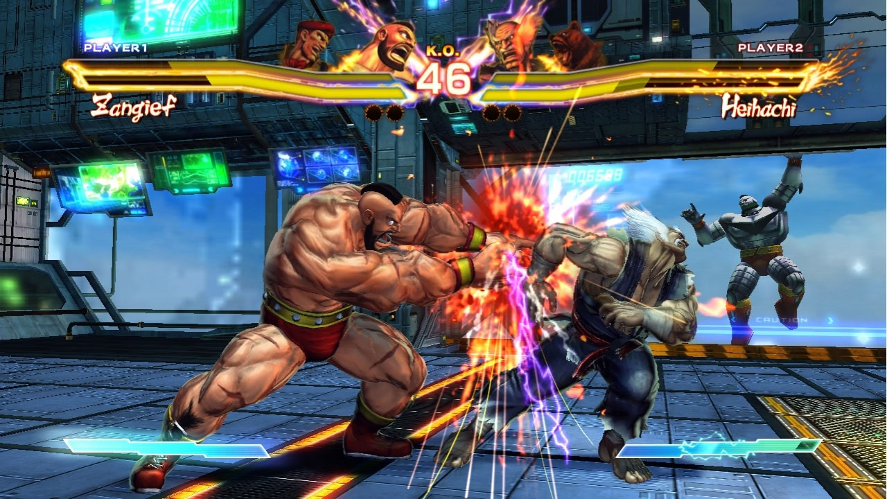 Поиграл в Ultra Street Fighter® IV
