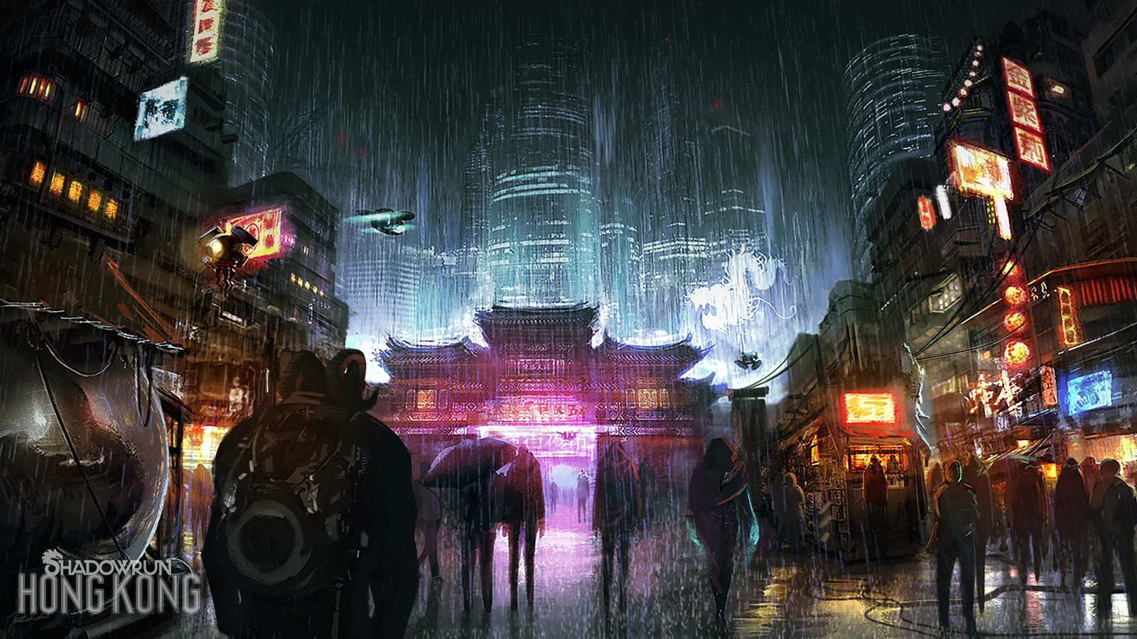 Shadowrun: Hong Kong поступила в продажу 20 августа