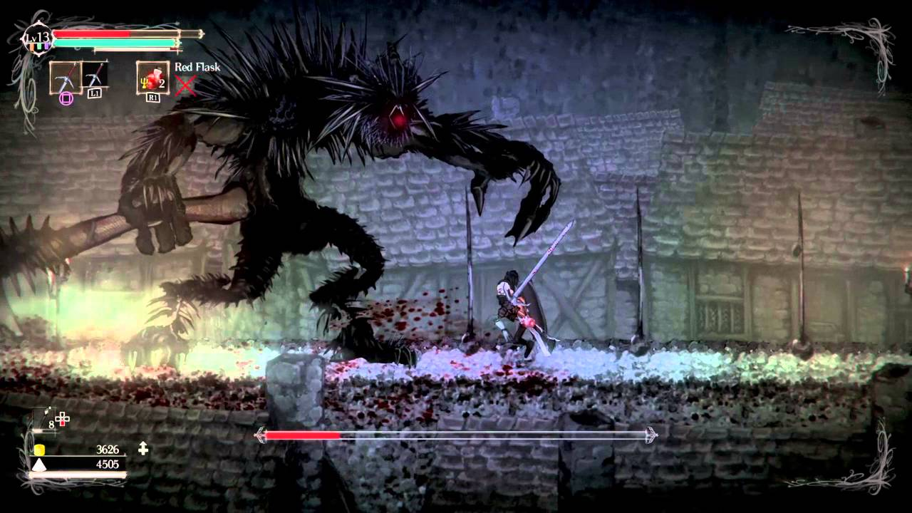 В Steam состоялся релиз хардкорного 2D-платформера Salt and Sanctuary